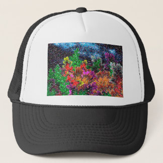 abstract contemporary colors No 27 Trucker Hat