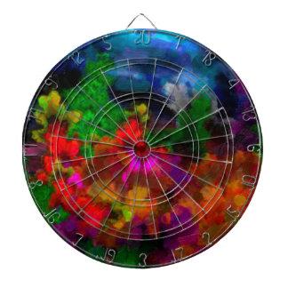 abstract contemporary colors No 28 Dartboard