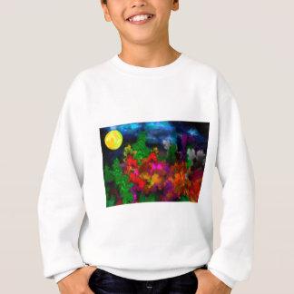 abstract contemporary colors No 28 Sweatshirt
