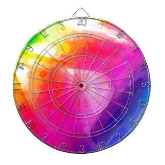 abstract contemporary colors No 29 Dartboard