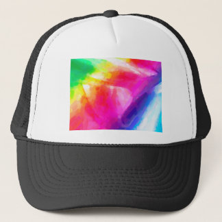 abstract contemporary colors No 29 Trucker Hat