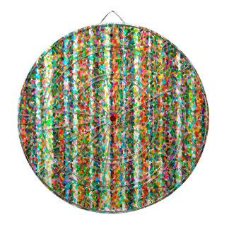 abstract contemporary colors No 33 Dartboard