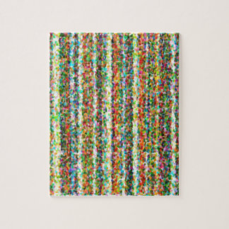 abstract contemporary colors No 33 Jigsaw Puzzle