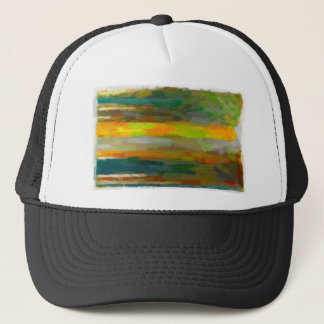 abstract contemporary colors No 34 Trucker Hat