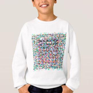 abstract contemporary colors No 35 Sweatshirt