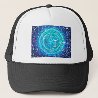 abstract contemporary colors No 38 Trucker Hat