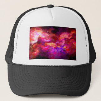 abstract contemporary colors No 44 Trucker Hat