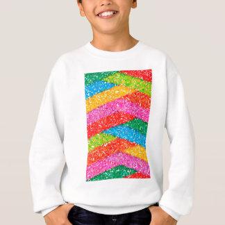 abstract contemporary colors No 45 Sweatshirt