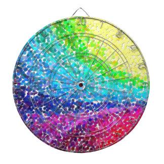 abstract contemporary colors No 46 Dartboard