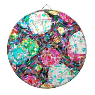 abstract contemporary colors No 49 Dartboard
