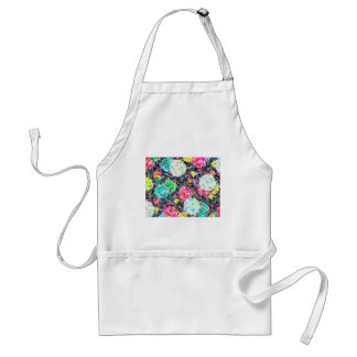 abstract contemporary colors No 49 Standard Apron