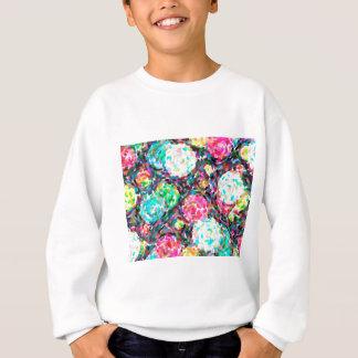 abstract contemporary colors No 49 Sweatshirt