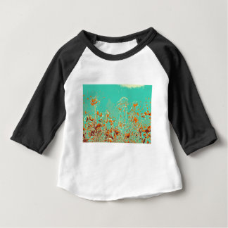 abstract contemporary colors No 50 poppies Baby T-Shirt