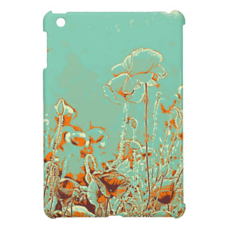 abstract contemporary colors No 50 poppies Case For The iPad Mini