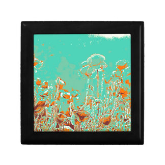 abstract contemporary colors No 50 poppies Gift Box