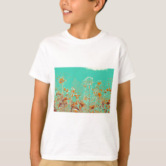 abstract contemporary colors No 50 poppies T-Shirt