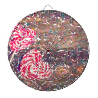 abstract contemporary colors No 51 Love Dartboard