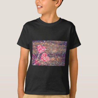 abstract contemporary colors No 51 Love T-Shirt
