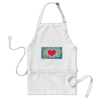abstract contemporary colors No 54 Standard Apron