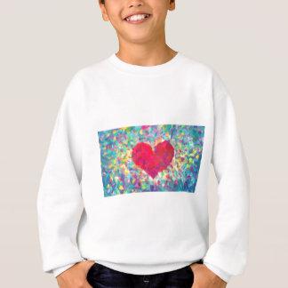 abstract contemporary colors No 54 Sweatshirt