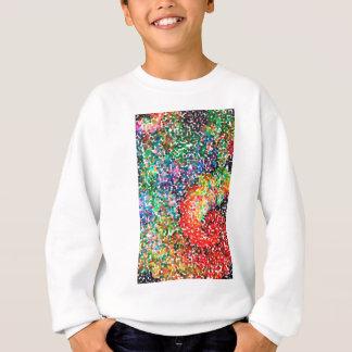abstract contemporary colors No 55 Sweatshirt