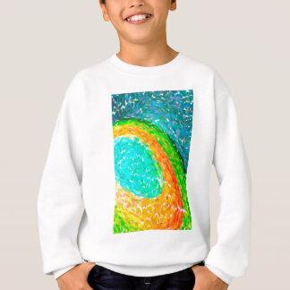abstract contemporary colors No 56 Sweatshirt