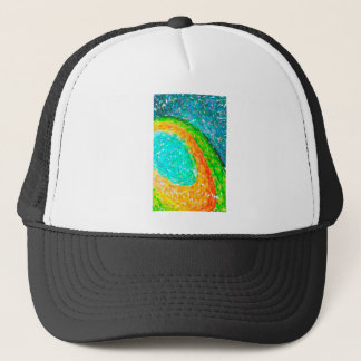 abstract contemporary colors No 56 Trucker Hat