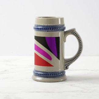 Abstract Contrast Mug