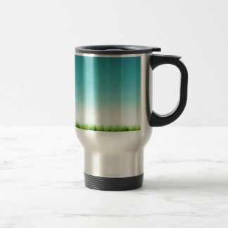 Abstract Cool Plenty Of Grass Travel Mug