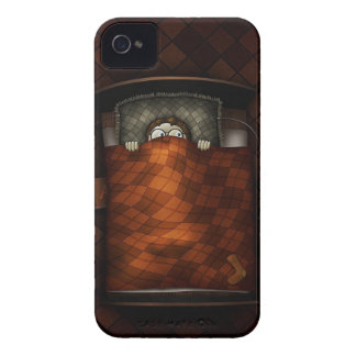 Abstract Cool Scary Bedtime Boy iPhone 4 Cover