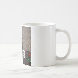 Abstract Cool Uncertain Rose Coffee Mug