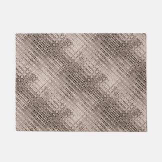 Abstract Copper Pattern Doormat