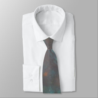 Abstract copper tie
