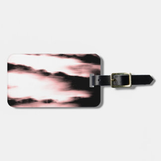 Abstract Copper Water Design Luggage Tag