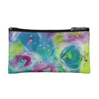 Abstract Cosmetic Case