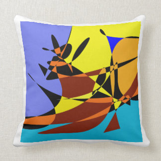 ABSTRACT COWBOY PILLOW