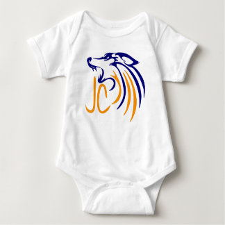 Abstract Coyote Baby Bodysuit