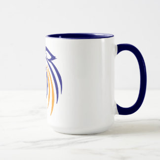 Abstract Coyote Mug
