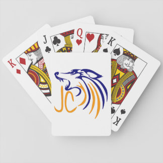 Abstract Coyote Playing Cards