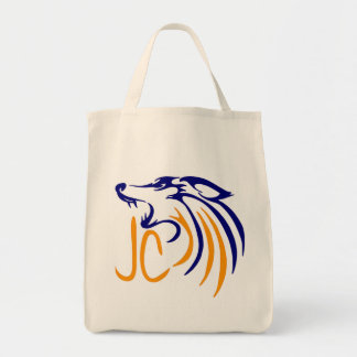 Abstract Coyote Tote Bag