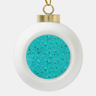 Abstract Cracked Texture Ceramic Ball Ornament