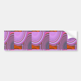 Abstract Creation Bumper Sticker