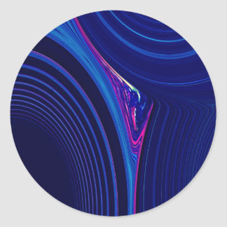 Abstract Creation Round Sticker