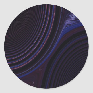 Abstract Creation Round Sticker