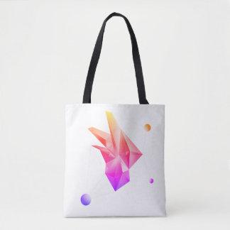 Abstract Crystal (Core Ipanema) Tote Bag