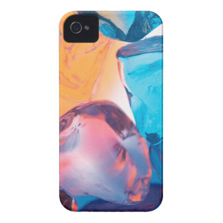 Abstract Crystal Reflect Cubes iPhone 4 Case