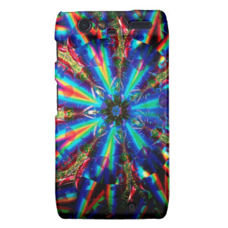 Abstract Crystal Reflect Deco Droid RAZR Case