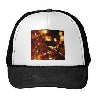 Abstract Crystal Reflect Gold Finger Trucker Hat