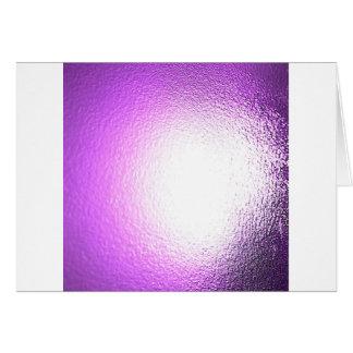 Abstract Crystal Reflect Haze Card