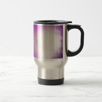 Abstract Crystal Reflect Haze Coffee Mugs